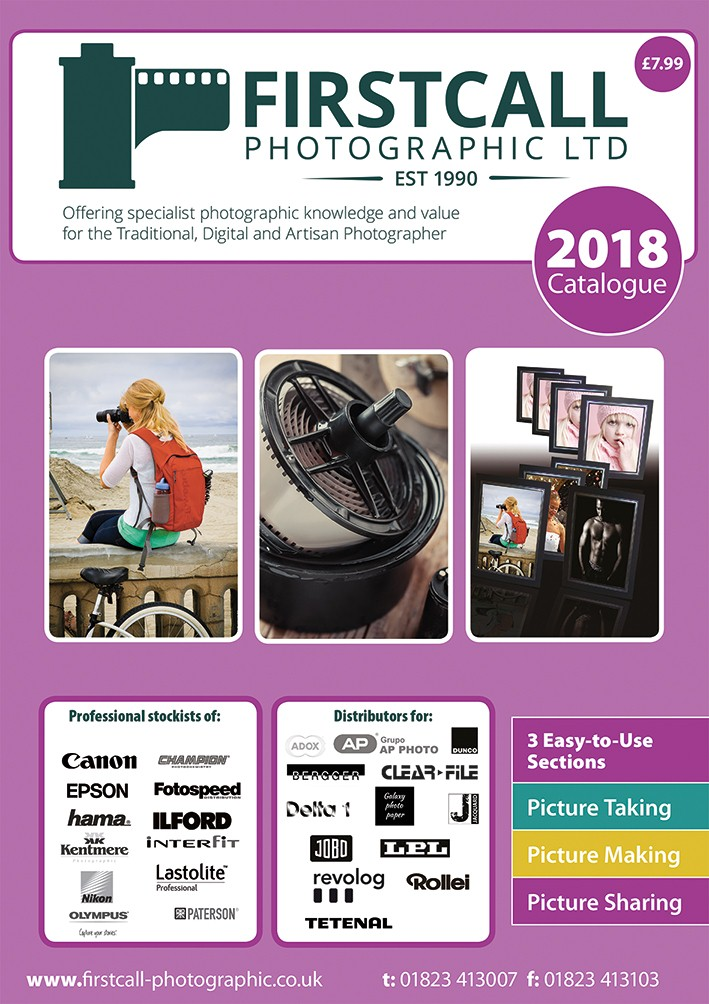 Firstcall Photographic 2018 Catalogue