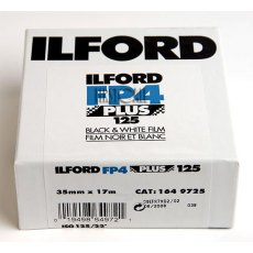 Ilford FP4 Plus 125 17m, ISO 125