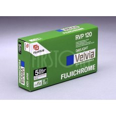 Fujifilm Velvia 50 120, ISO 50, Pack of 5