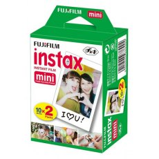 Fujifilm Instax Mini, ISO 800, 10 Sheets, Twin Pack