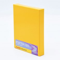 Kodak Portra 160 8 x 10, ISO 100, Pack of 10 sheets
