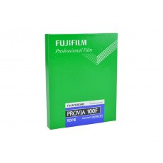 Fujifilm Provia 100F 4 x 5 in, 20 Sheets