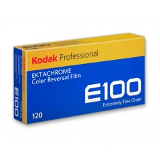 Kodak Ektachrome E100 120, ISO 100, Pack of 5