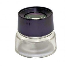 Firstcall Film Magnifier 10x Round Loupe