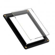 Negative Supply 4 x 5 Sheet Film Holder c/w 2 sheets ANR Glass