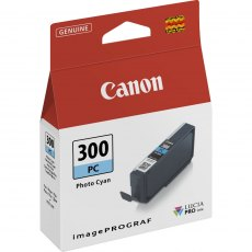 Canon Ink Jet Cartridge PFI-300PC, Photo Cyan