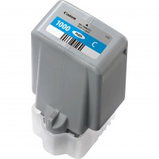 Canon Ink Jet Cartridge PFI-1000C, Cyan