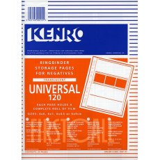 Kenro Negative Pages, Paper, 6 x 6cm, 25 sheets