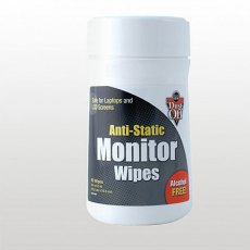 Dust-Off Monitor Wipes
