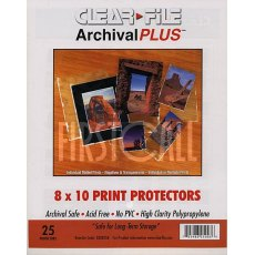 Clearfile 030B Print Protectors 8x10in Pack of 25