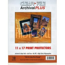 Clearfile 015B Print Protectors 11x17in Pack of 10