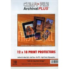 Clearfile 011B Print Protectors 12x18in Pack of 10