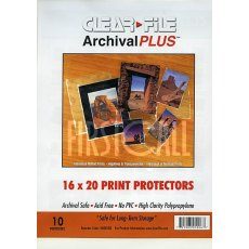 Clearfile 060B Print Protectors 16x20in Pack of 10