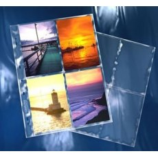 Clearfile 36B Print Pages 4x6in Archival Plus Pack of 25