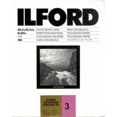 Ilford Galerie FB Grade 3 Glossy, 8 x 10in, Pack of 100