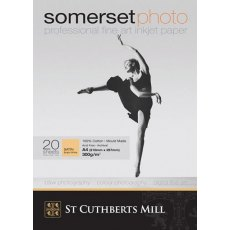 Somerset  Photo Ink Jet Paper, 300gsm, A4, Pack of 20