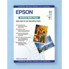 Epson SO41344, Archival Matte Paper  A3, Pack of 50