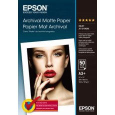 Epson SO41340, Archival Matte Paper A3+ size, Pack of 50