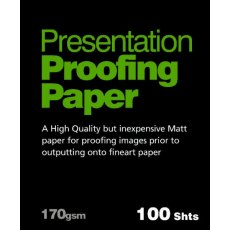 Fotospeed Proofing Paper, Matt, A4, Pack of 100