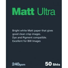 Fotospeed Matt Ultra, A4, Pack of 50