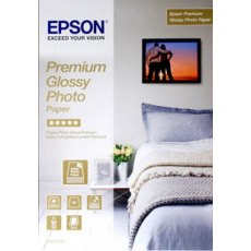 Epson SO42155, Premium Glossy Photo Paper, A4, Pack of 15