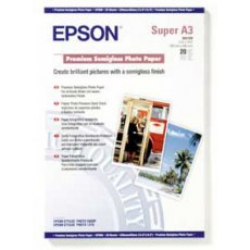 Epson SO41328, Premium S/gloss Photo Paper A3+, Pack 20