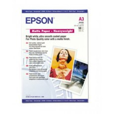 Epson SO41261, Matte Paper Heavyweight, A3, Pack of 50
