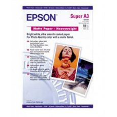 Epson SO41264, Matte Paper Heavyweight, A3+, Pack of 50
