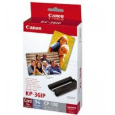 Canon Selphy Dye Sublimation Ink and Paper KP-36IP