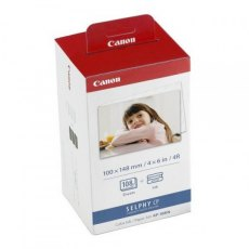 Canon Selphy Dye Sublimation Ink & Paper KP-108IN
