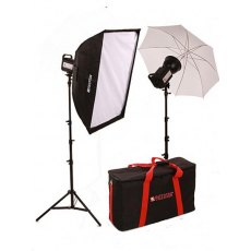 Paterson LIT102 Tungsten Umbrella/Softbox Kit