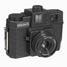 Holga 120GCFN Medium Format Camera Black