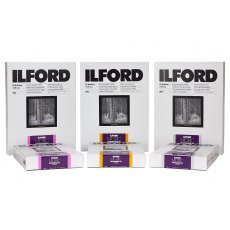 Ilford Multigrade RC Deluxe, Glossy, 4 x 5in, Pack of 25