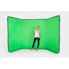 Lastolite Panoramic Background, 4m, Green - 7622
