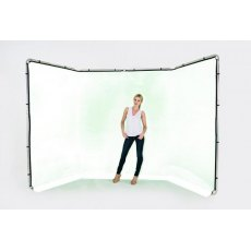 Lastolite Panoramic Background, 4m, White - 7623