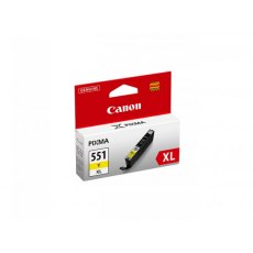 Canon Ink Jet Cartridge CLI-551Y XL, Yellow