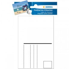 Herma Postcard Labels - Pack of 10