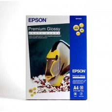 Epson SO41624, Premium Glossy Photo Paper, A4, Pack of 50