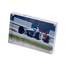 Firstcall Clear Acrylic Visionblox Photo Frame, 4 x 6 inches