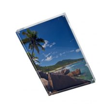 Firstcall Clear Acrylic Visionblox Photo Frame, 5 x 7 inches