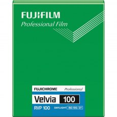 Fujifilm Velvia 100 4 x 5 in, 20 Sheets