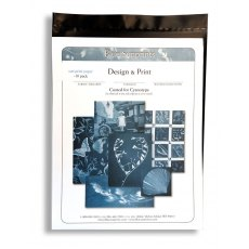 Firstcall Cyanotype Printing-Out Paper, 5 x 7 inches, Pack of 10