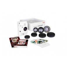 Lomography Lomo''Instant Camera, White + 3 Lenses