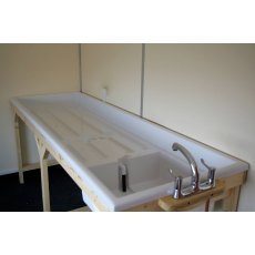 Firstcall Ampro 80 Fibreglass Sink