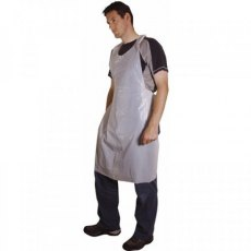 Firstcall White Polythene Aprons, Disposable, Pack of 100