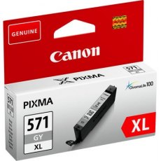 Canon Ink Jet Cartridge CLI-571 G XL, Grey