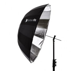 Interfit UP3SI Parabolic Silver Umbrella, 41 inch