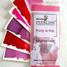 Peerless Water Color Pretty in Pink - Dry Book