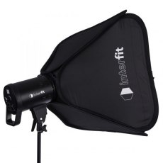 Interfit LM8 100W LED Monolight & Softbox