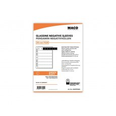 MACO Negative Pages, Paper (glassine), 35mm, 100 sheets